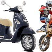 Scooter e Motocross